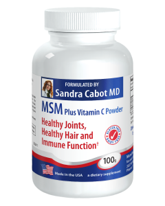 MSM Plus Vitamin C Powder 100g