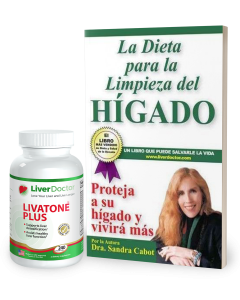 Natural Liver Cleansing 240 Pack Español Edicíon -La Dieta para la Limpieza del Hígado -Livatone Plus 240