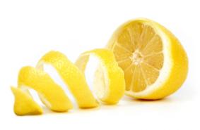 lemon with peel web