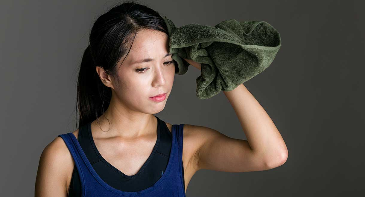 Sweating Helps Your Body To Eliminate Many Toxic Substances