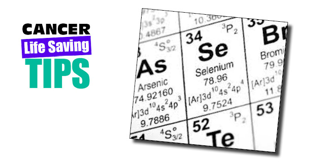 Selenium - the cancer fighting mineral