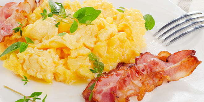 Start your day with a protein rich breakfast