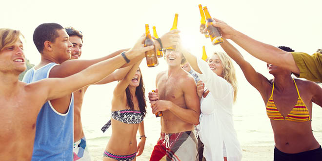 Alcohol may increase the risk of malignant melanoma