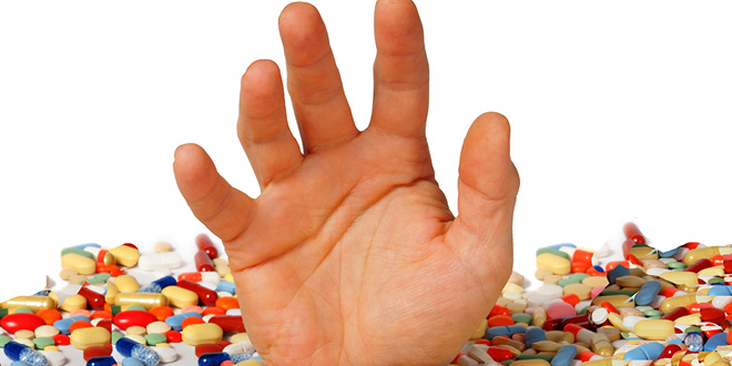 Barbiturates and Benzodiazepines and physical dependence
