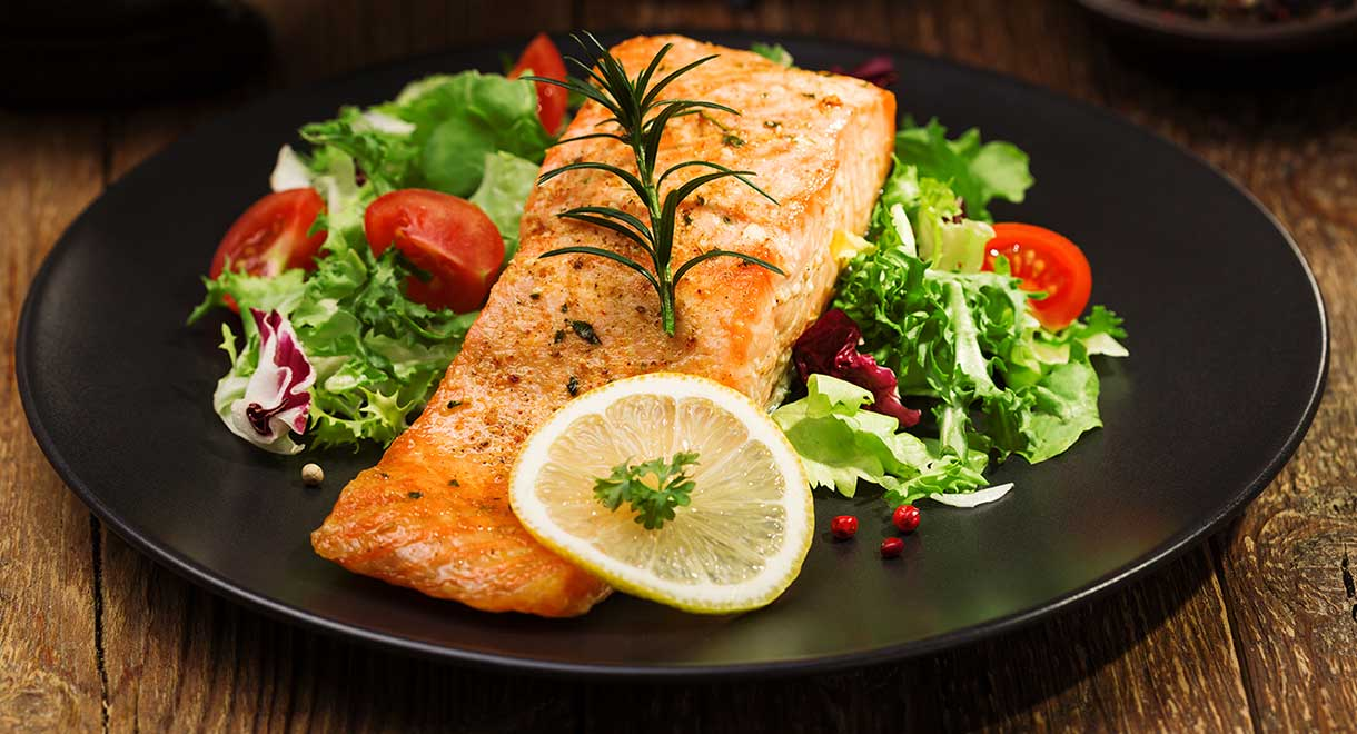 Simple Baked Salmon