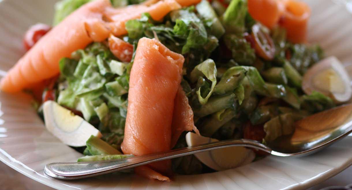 Salmon And Egg Salad