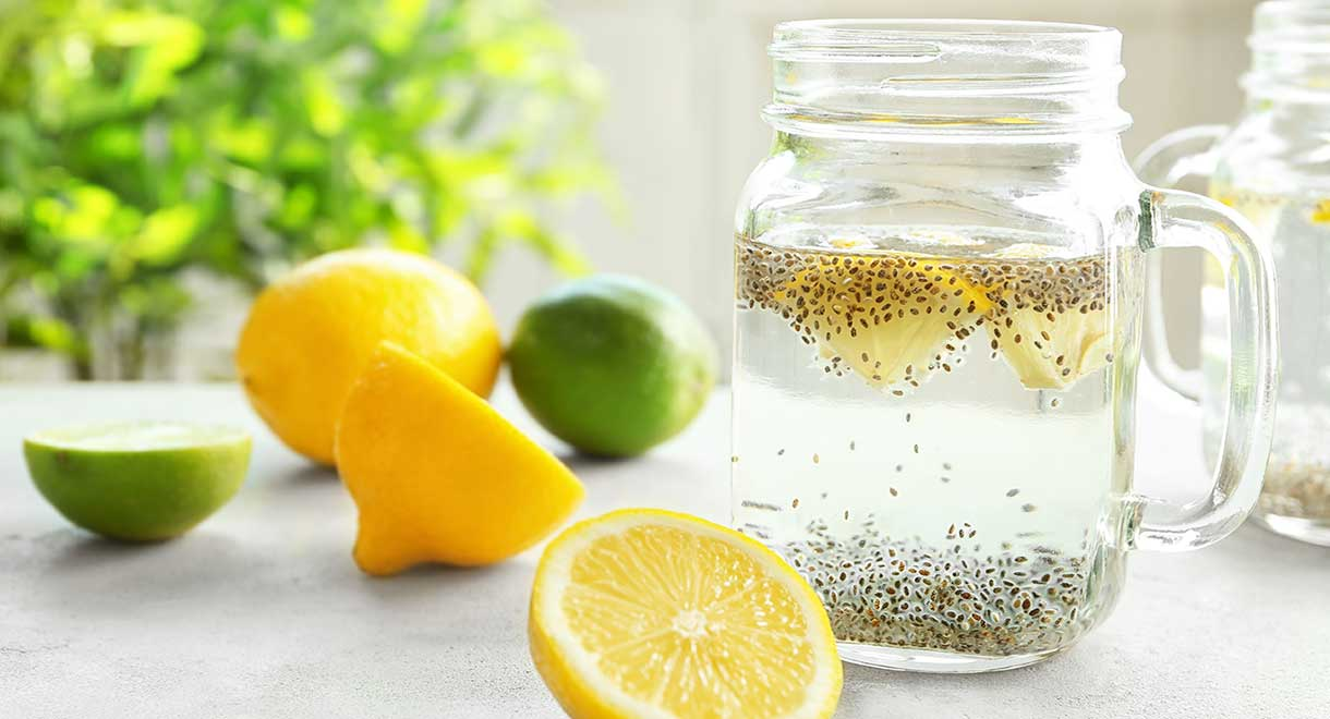 Chia And Lemon Drink