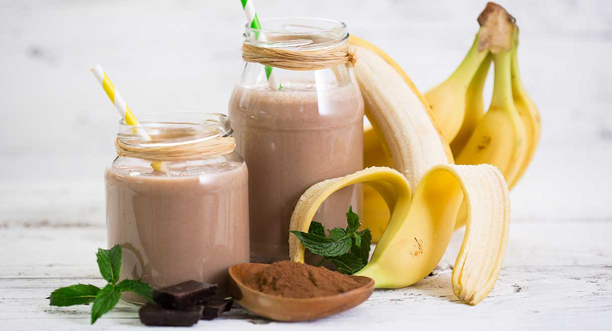 Cacao And Banana Thick Shake
