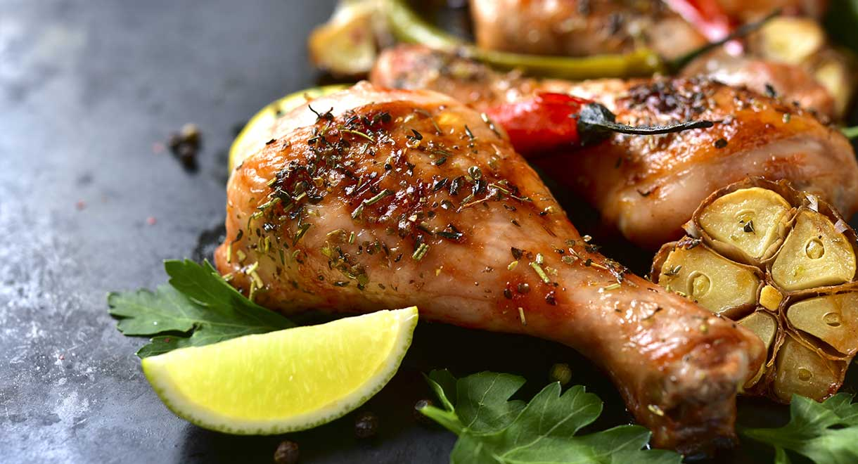 Baked Lime And Chilli Chicken