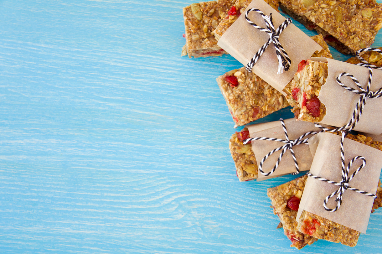 Sugar Free Banana Oat Bars