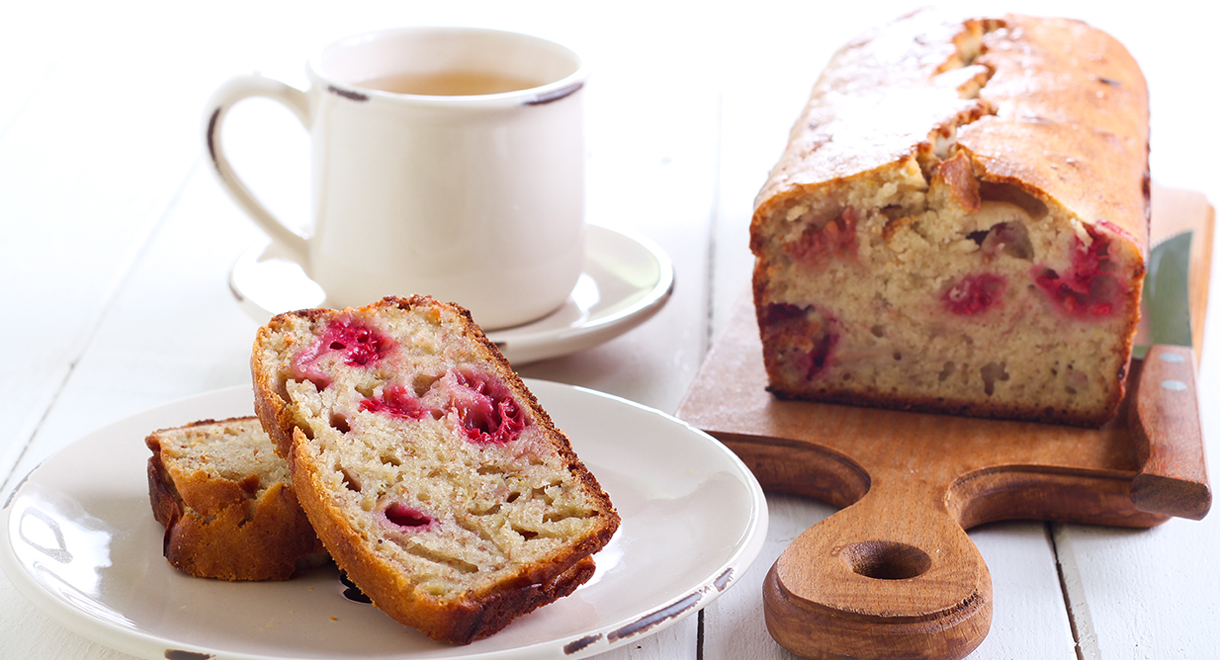 Quick And Simple Raspberry Bread
