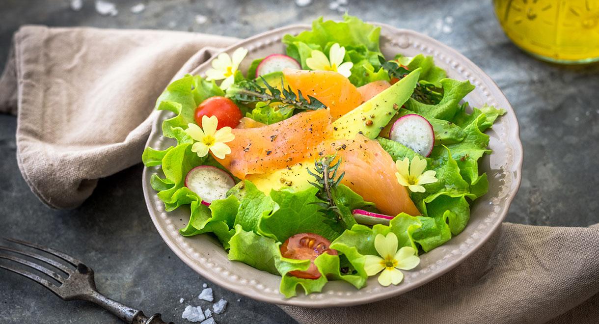 Low Carb Salmon Salad