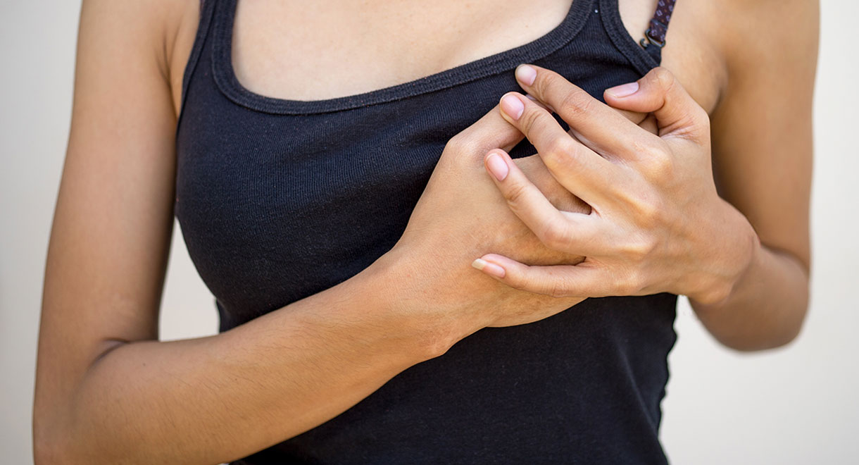 Iodine and breast pain