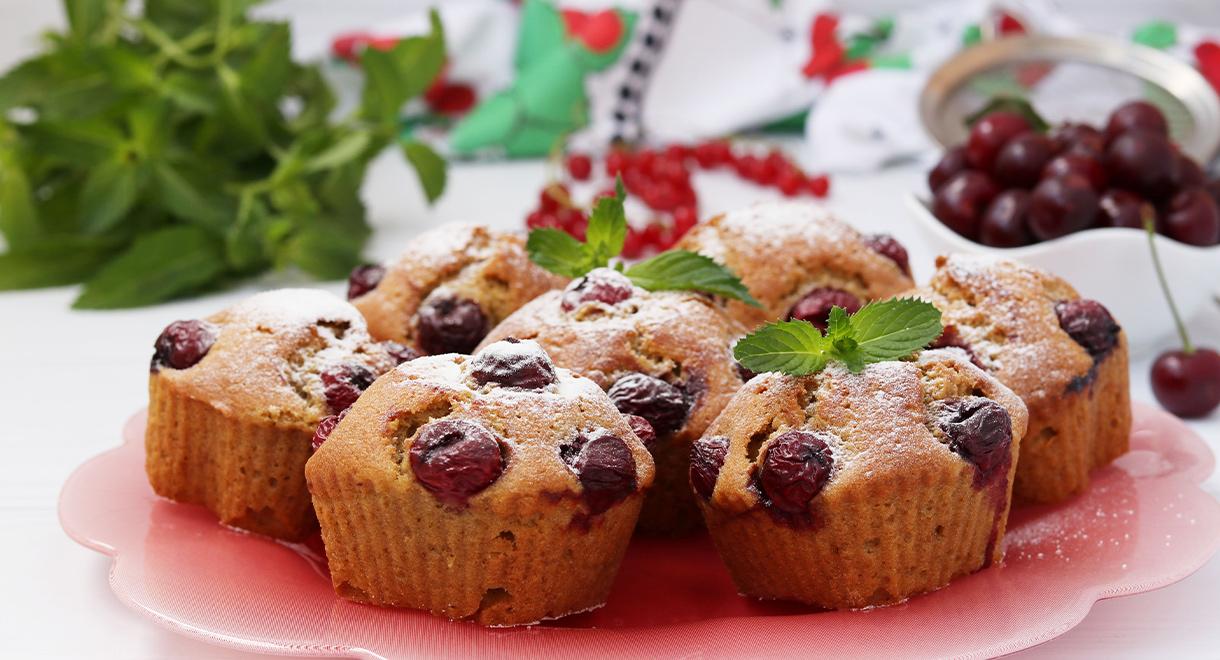 Grain Free Cherry Muffins